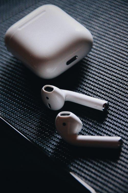 Free stock photo of airpods, macro