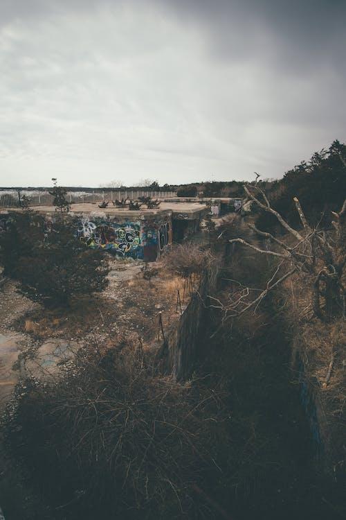 Ilmainen kuvapankkikuva tunnisteilla autio, autio rakennus, graffiti, raihnainen