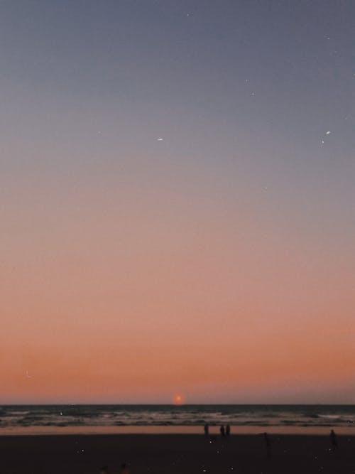 Δωρεάν στοκ φωτογραφιών με ακτή, αναλογική φωτογραφία, απόγευμα, αυγή