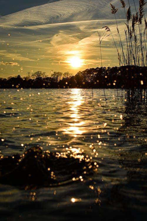 Fotobanka sbezplatnými fotkami na tému farby západu slnka, fotografia prírody, fotografovanie krajiny, fotografovanie pri západe slnka