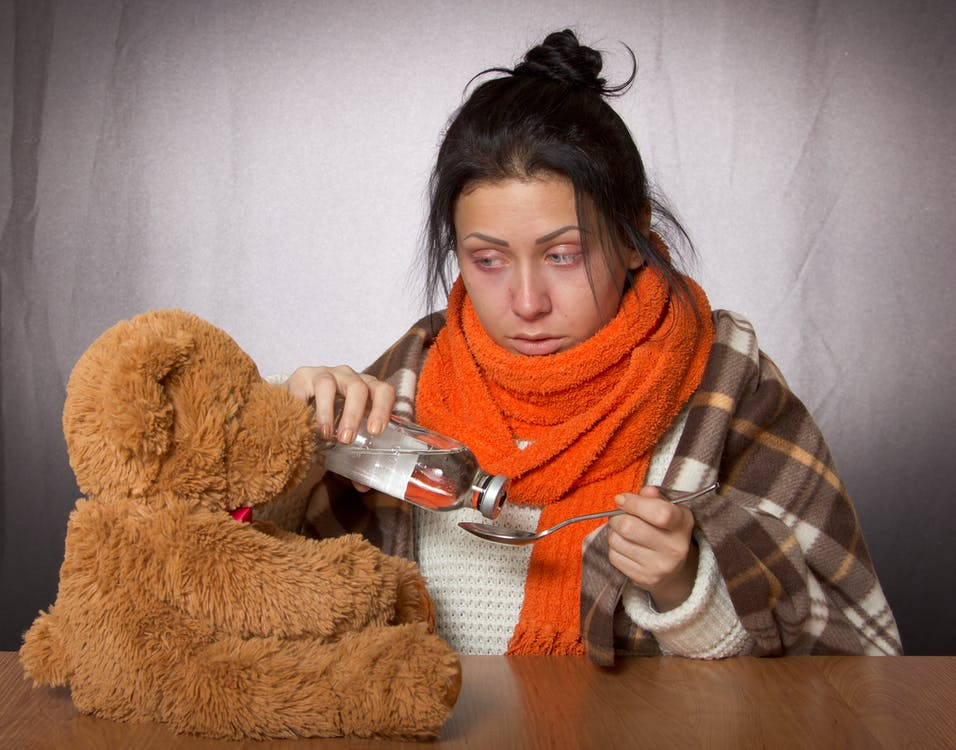 Free stock photo of flu, girl, toy