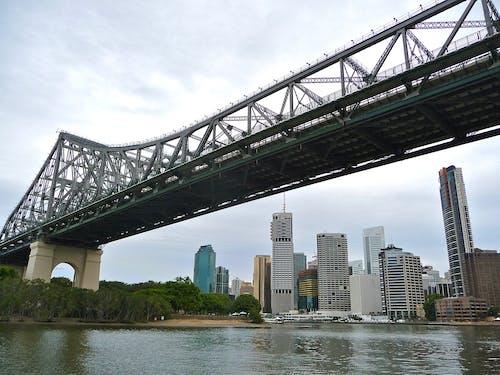 交通, 交通系統, 吊橋, 商業 的 免费素材照片