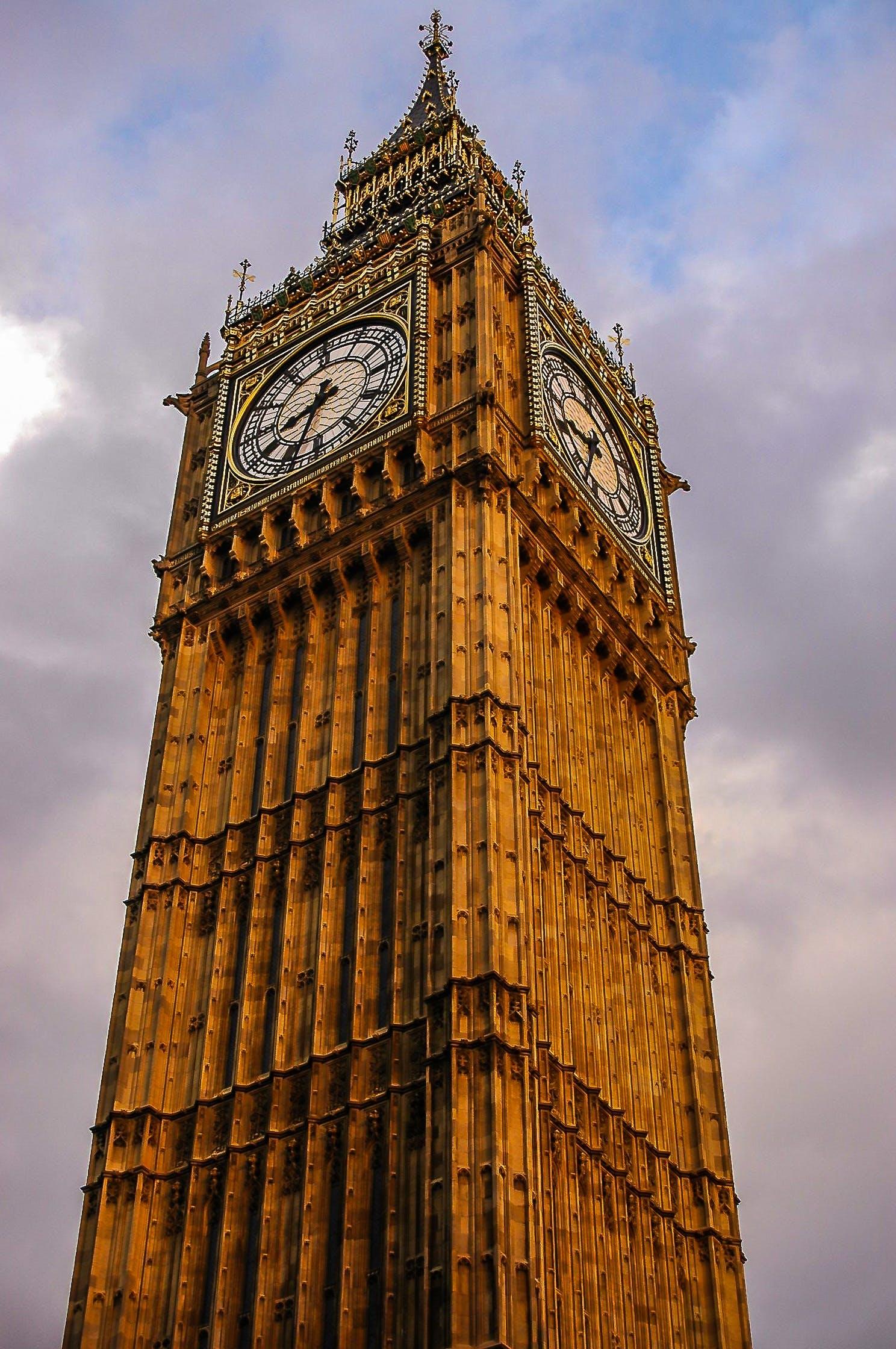 Základová fotografie zdarma na téma Anglie, architektura, atrakce, Big Ben