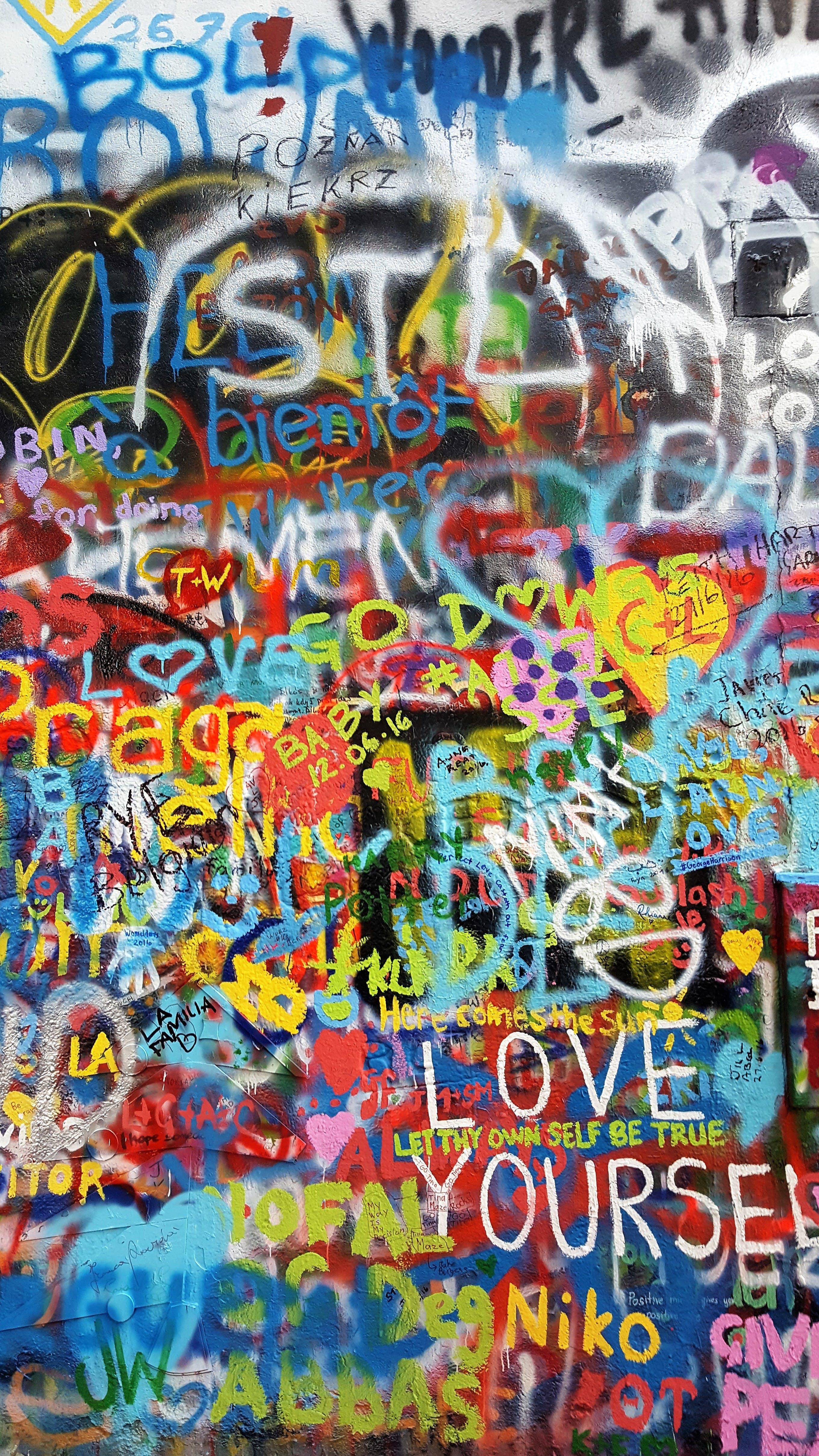 Free stock photo of art, landmark, graffiti, wall