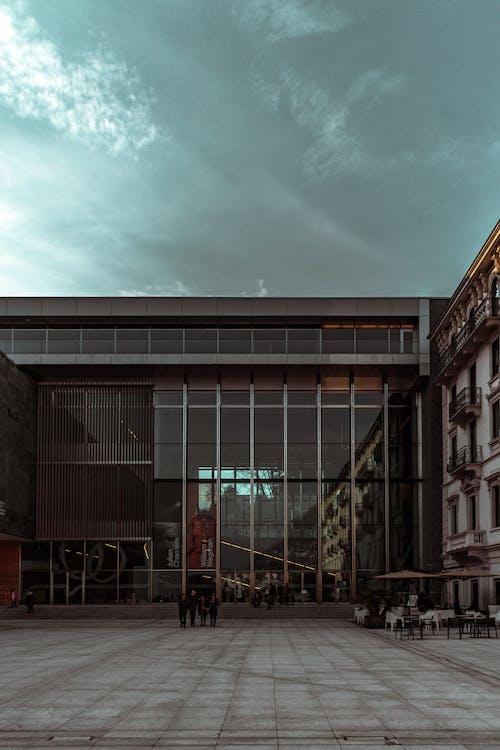 Foto d'estoc gratuïta de a l'aire lliure, arquitectura, articles de vidre, cap persona