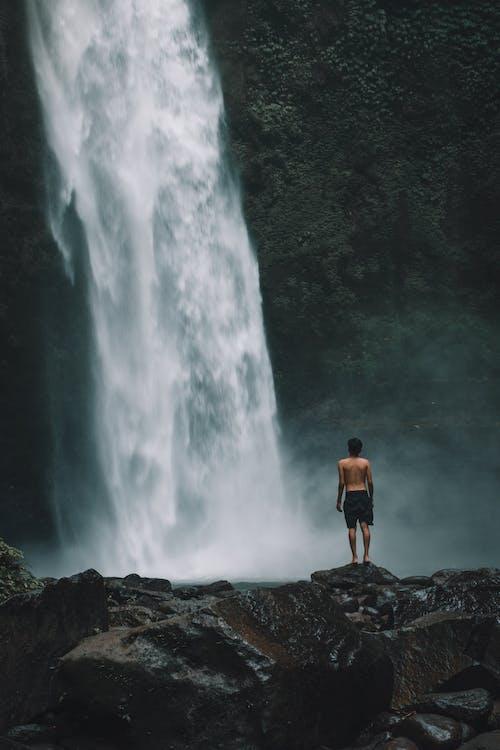 Fotos de stock gratuitas de al aire libre, aventura, bali, cascada