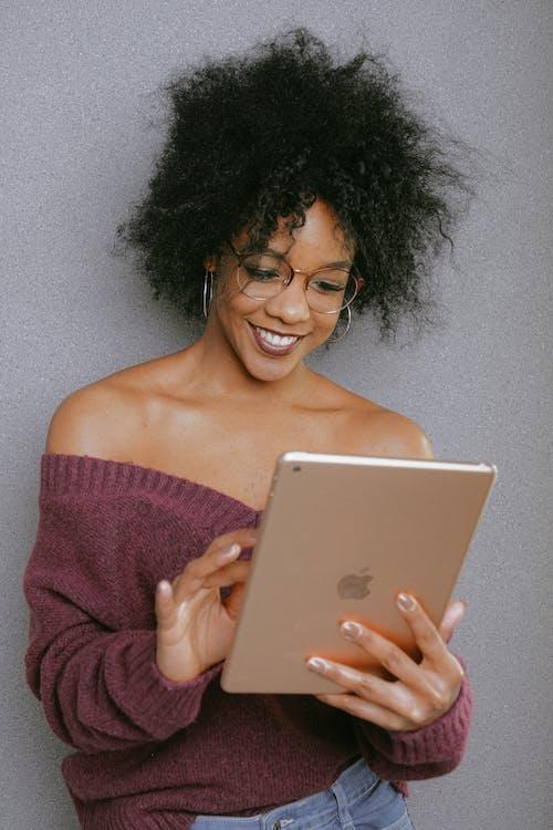 Imagine de stoc gratuită din afro, afro-american, atingere, dinți