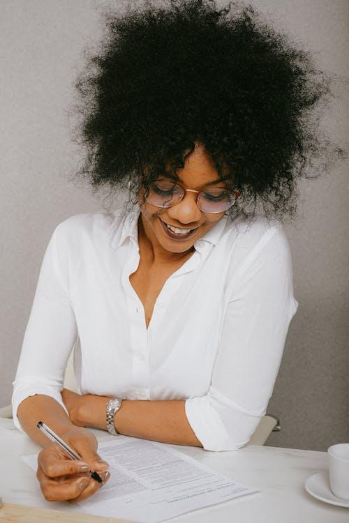 Imagine de stoc gratuită din afro, afro-american, birou, contract