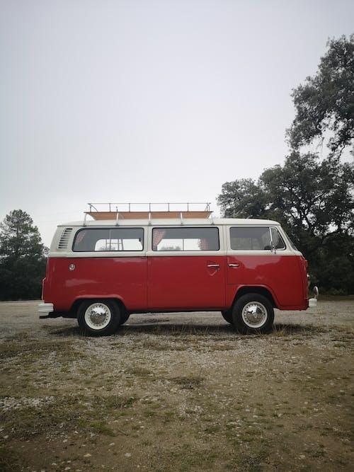 赤い車の写真