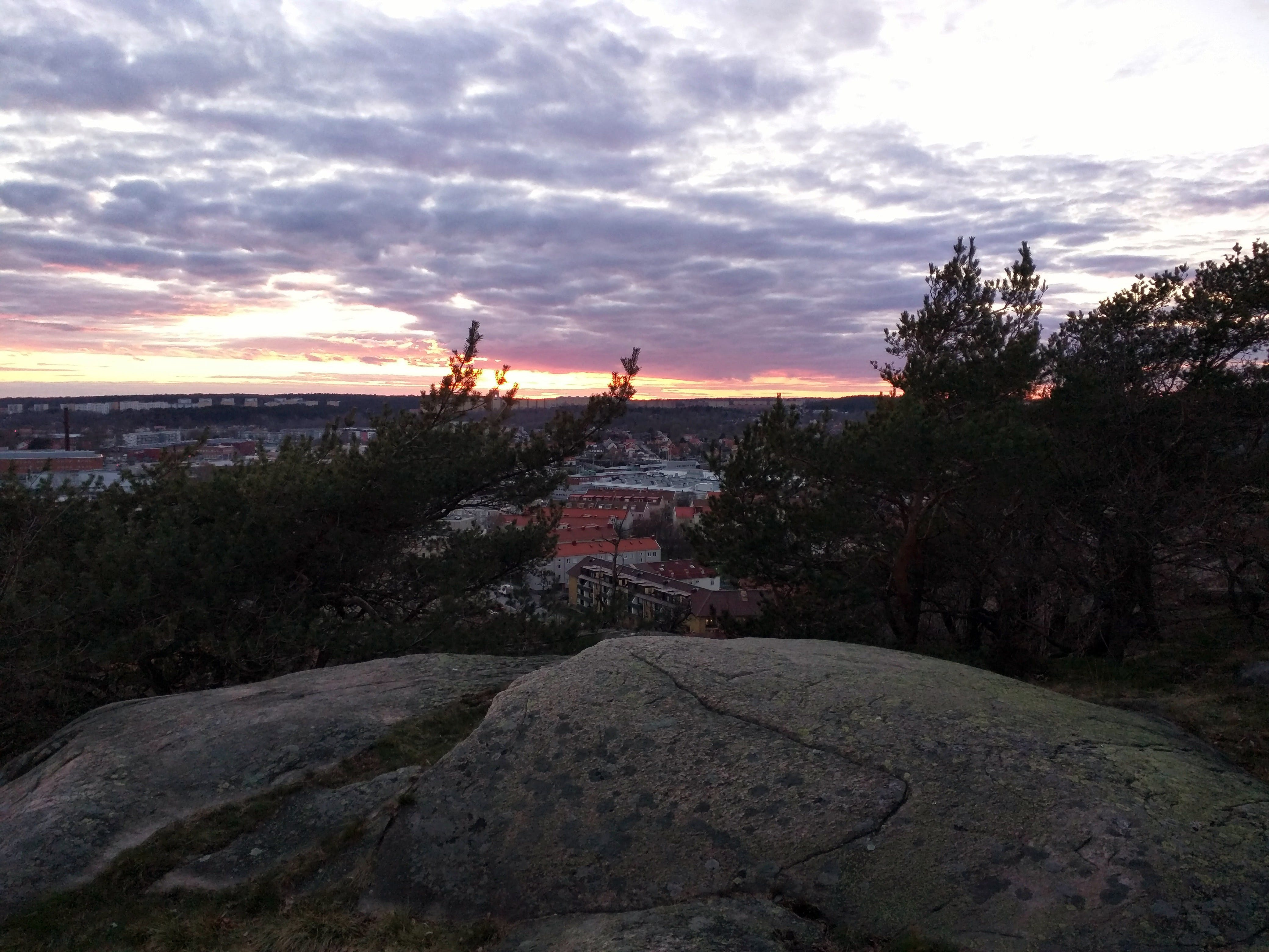 Free stock photo of sunset, overview, sweden, gothenburg