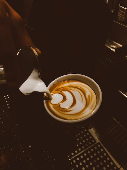 Free stock photo of caffeine, coffee, coffee art, coffee bean