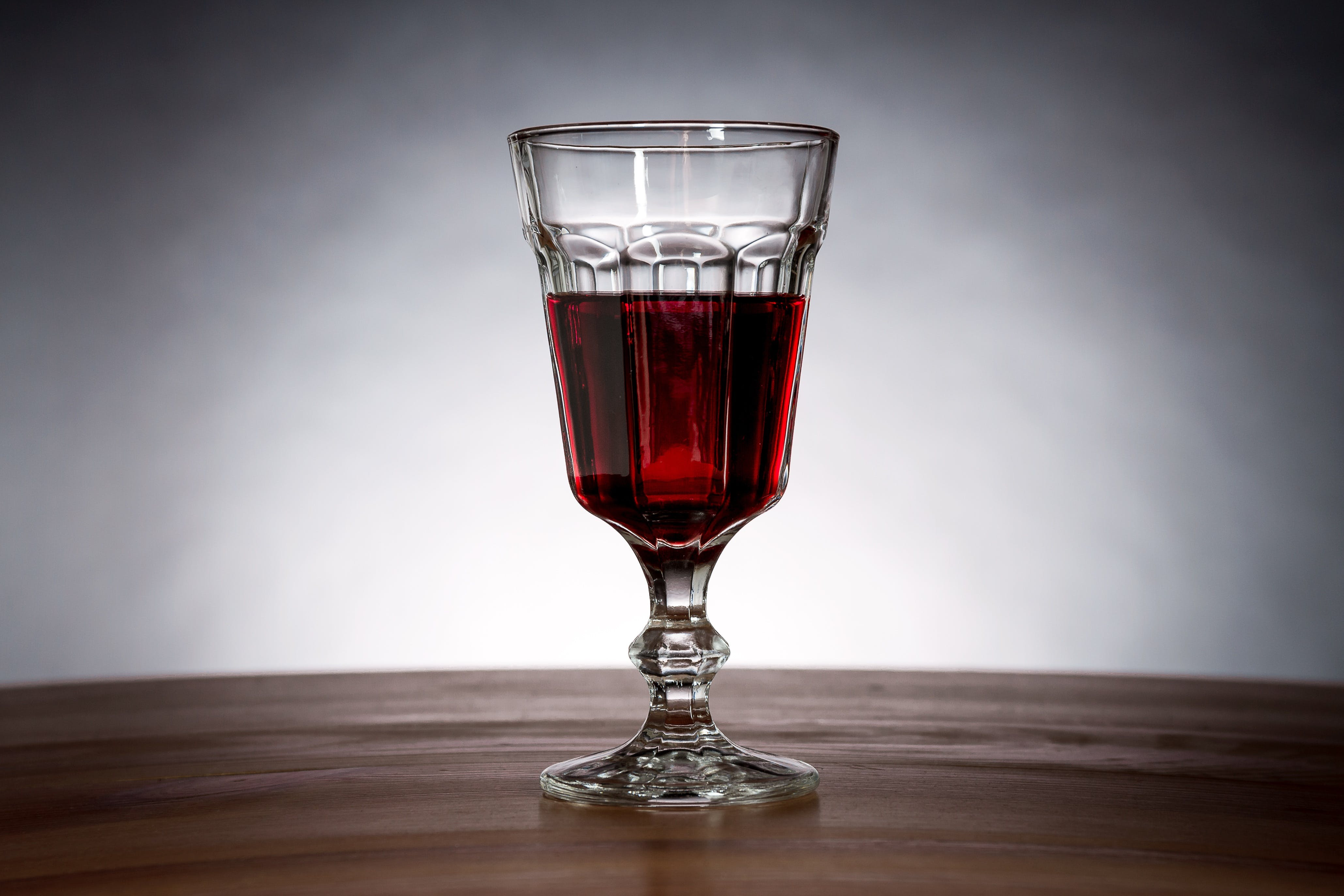 Red Wine in Wine Glass