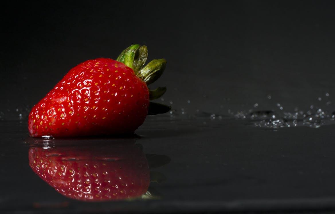bær, close-up, delikat