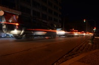 cars, traffic, night