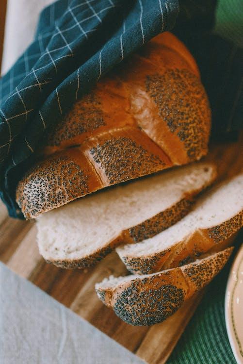 Bread On Brown Wooden Board