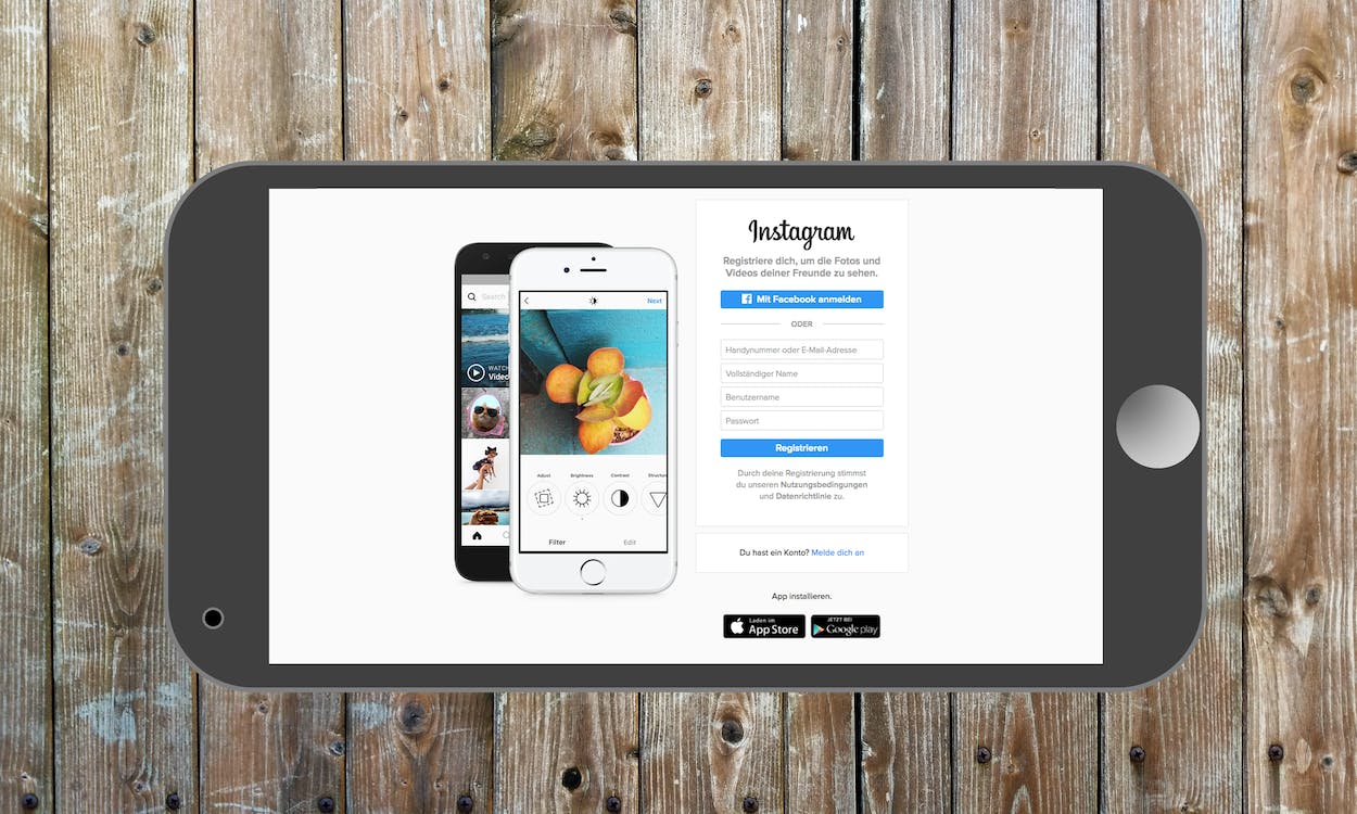 Free stock photo of instagram, internet, internet page