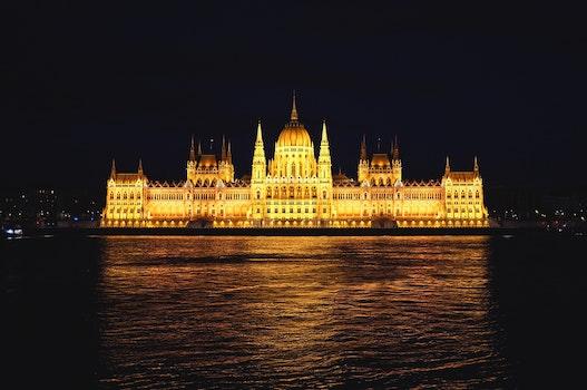 Free stock photo of landmark, night, building, architecture