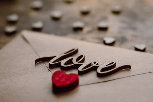 Selective Focus Photo of Love Letter