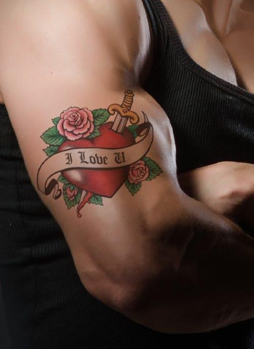 Gratis lagerfoto af arm, hjerte, hud, kunst