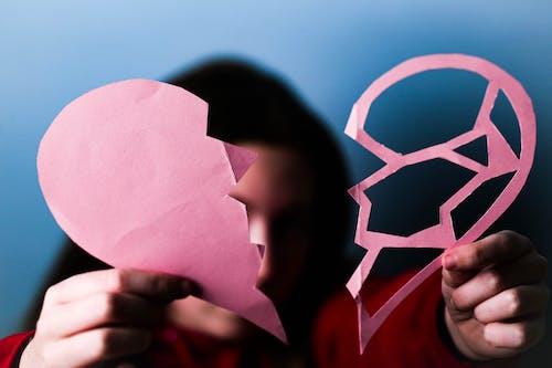 Foto stok gratis anak, bentuk, bentuk hati, berantakan