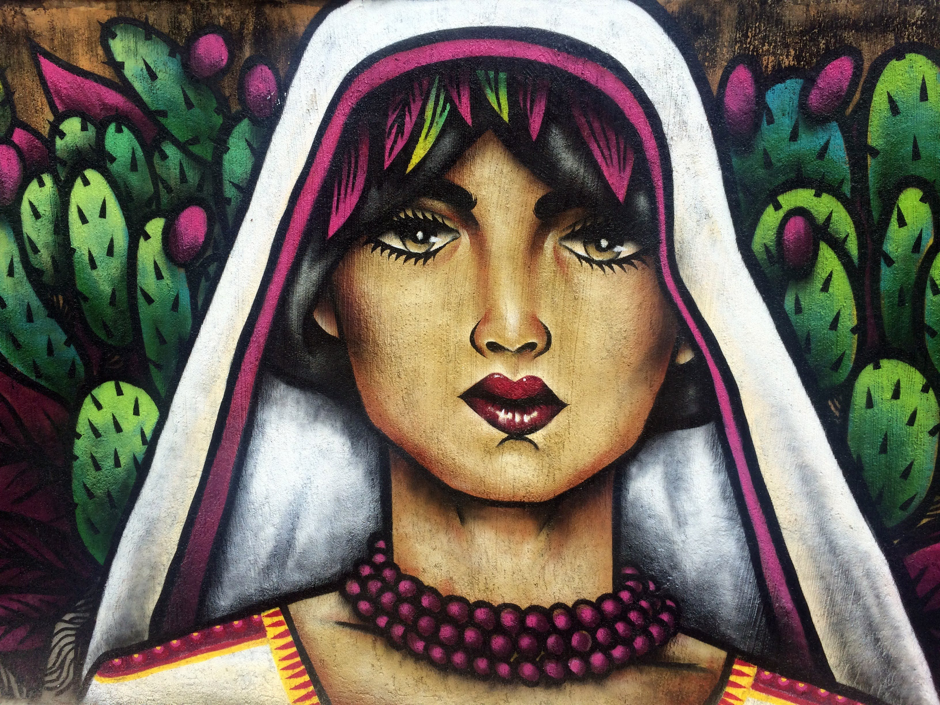 Free stock photo of art, mexico, mural, outdoor