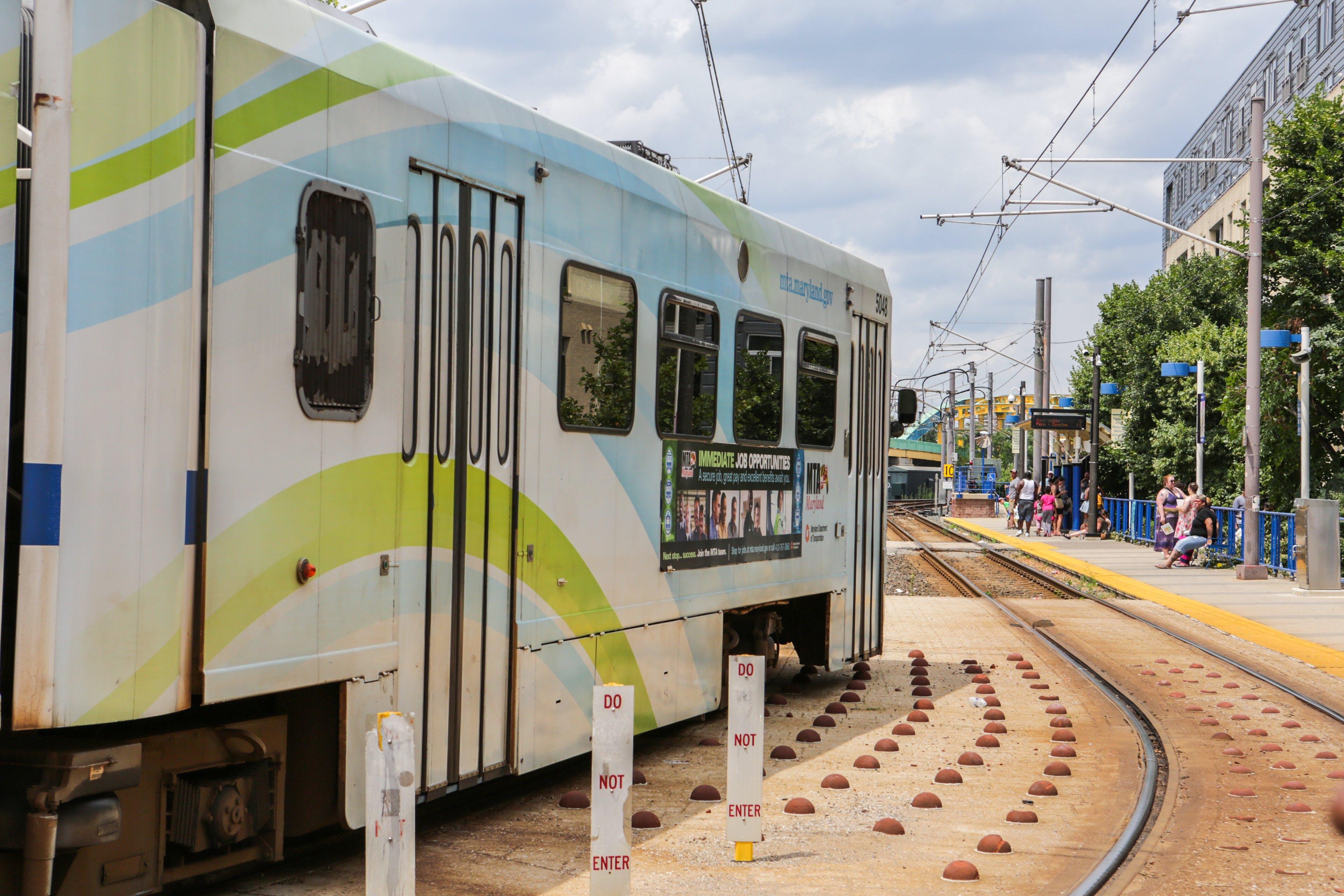 Free stock photo of city, rails, tram, transportation
