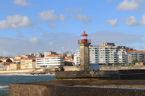 Free stock photo of lighthouse, Porto