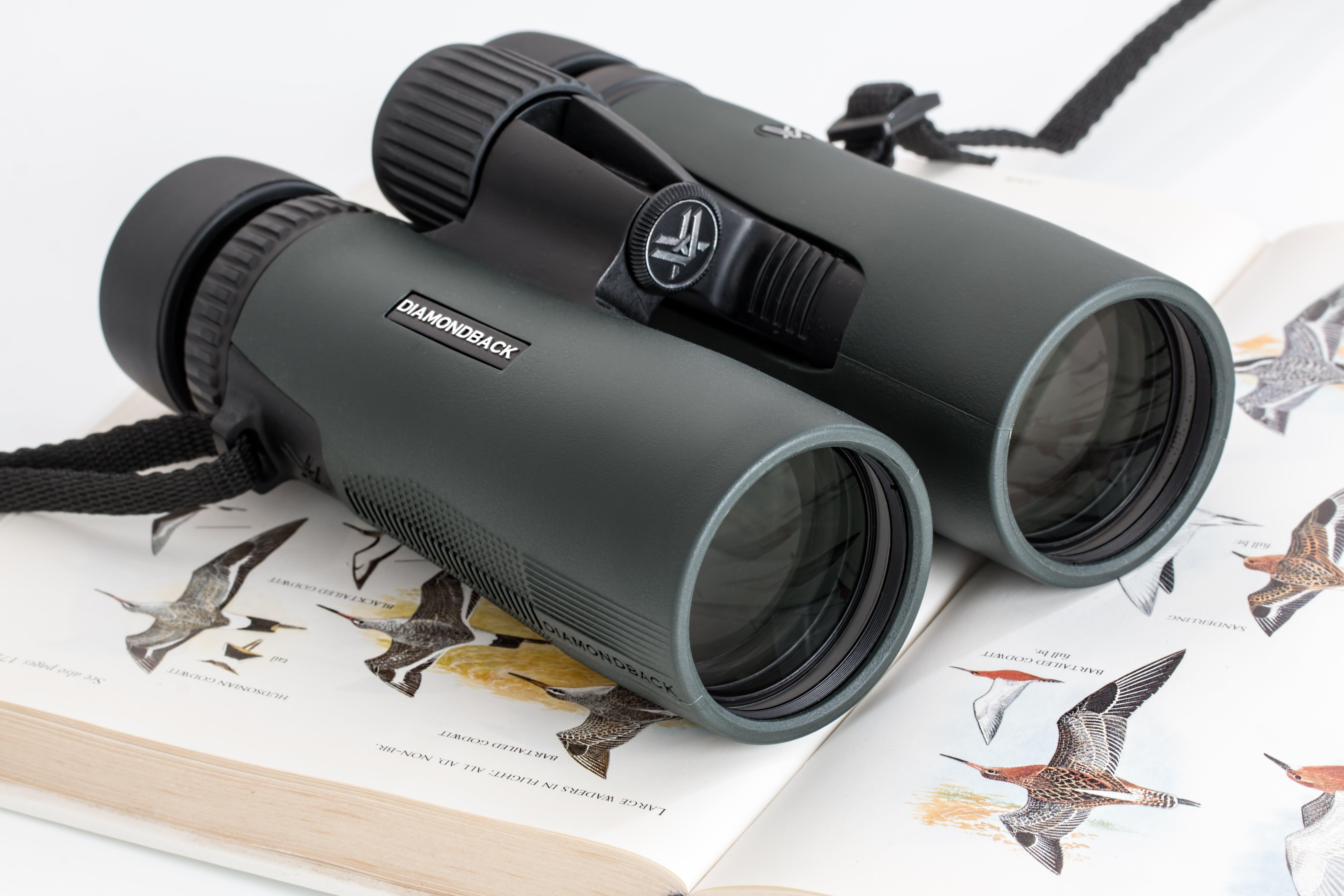 Black Binoculars on Book