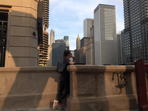 Free stock photo of chicago, city, cityscape, clark Street
