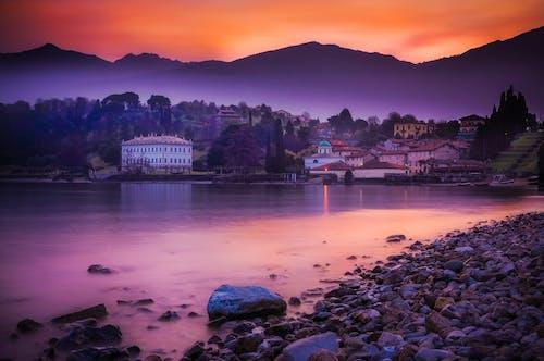 Бесплатное стоковое фото с hdr, вечер, вода, восход
