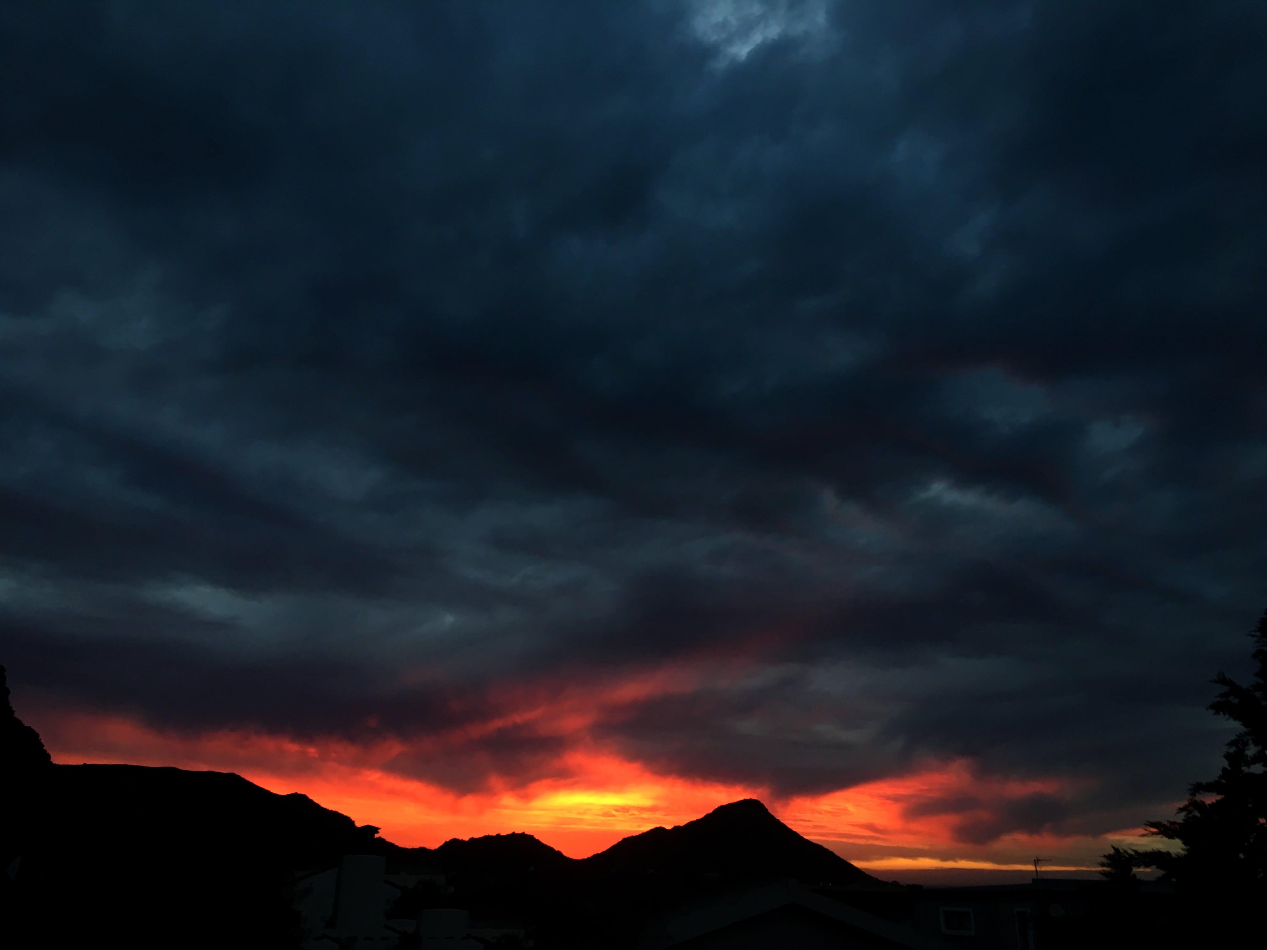 Free stock photo of cauldron, cloud, dark clouds, Dark Sky