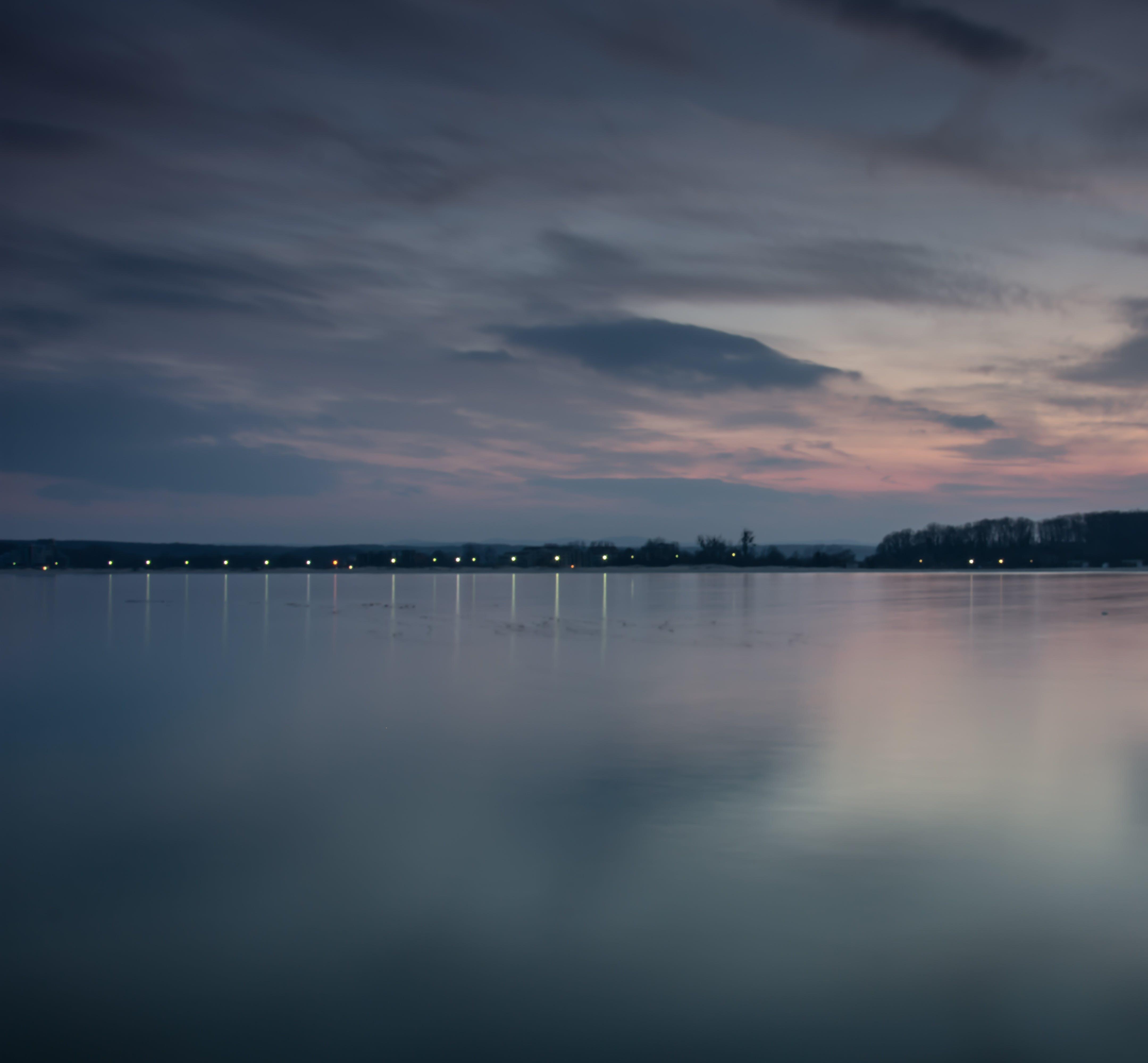 aigua, Aigües tranquil·les, alba