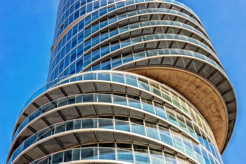 Gratis lagerfoto af arkitektur, bygning, facade, futuristisk