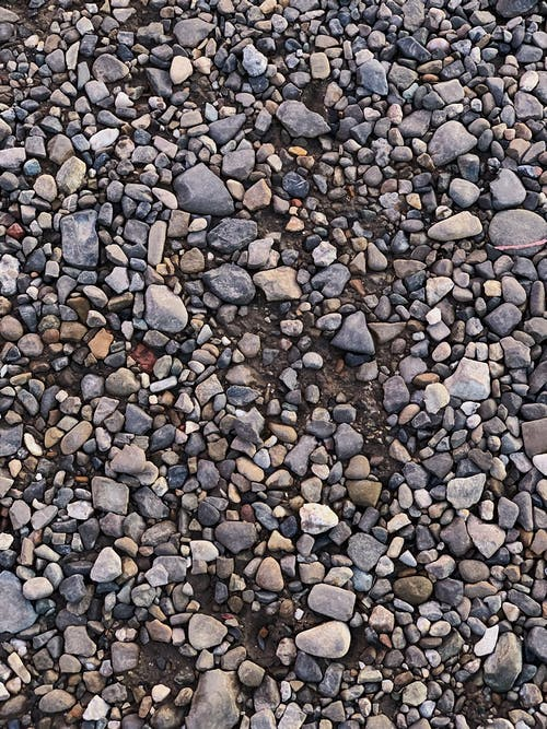 Brown and Gray Stone Pebbles