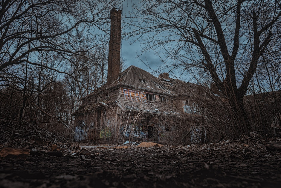 abandoned, creepy, decay