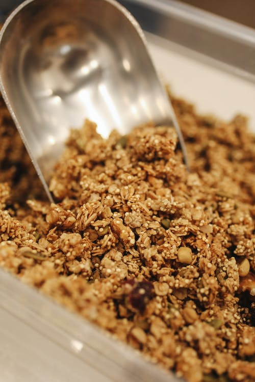 Granola in Container