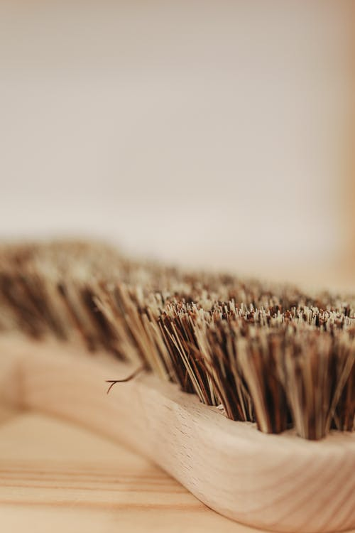 Close Up of Brush