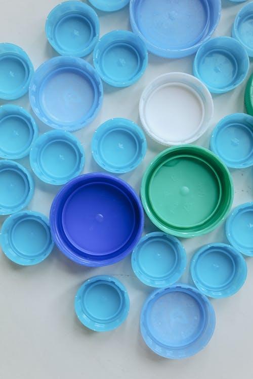 Fotobanka sbezplatnými fotkami na tému odpad, plast, pohľad zhora, recyklovať