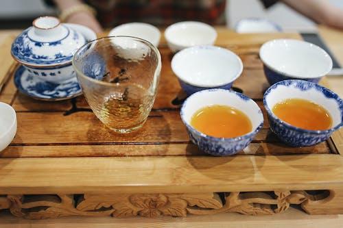 Teacups on Table