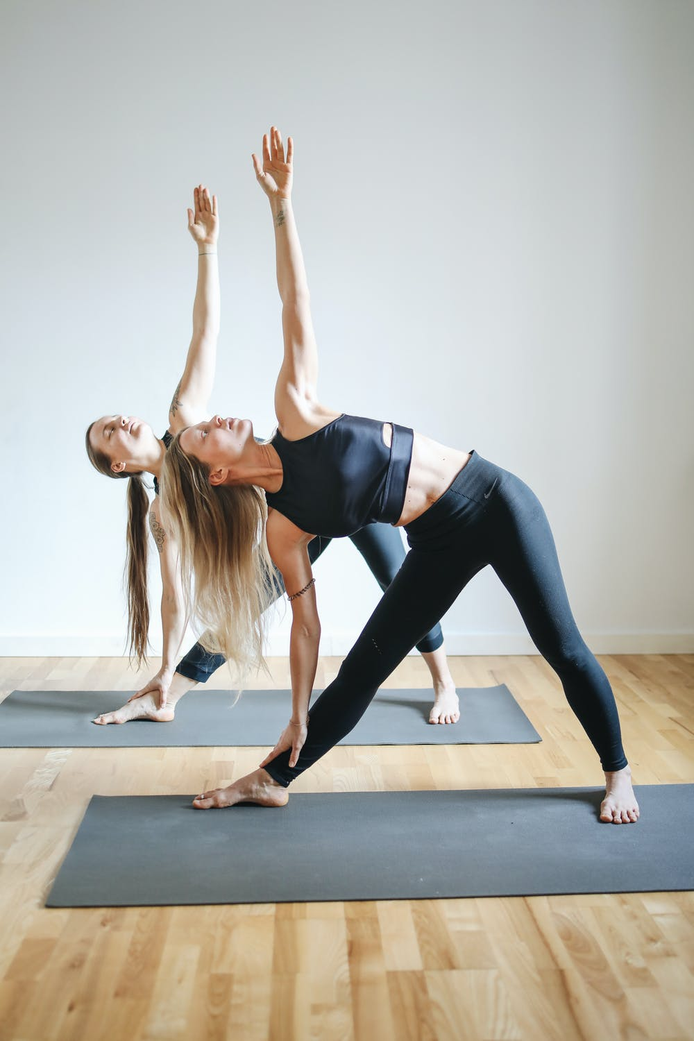 Yoga pose for two