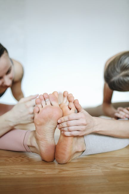 Foot Stretches May Prevent Muscle Cramps