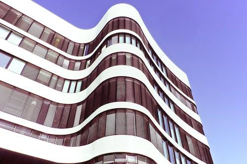 ローアングルショット, 前面, 建築, 未来的の無料の写真素材