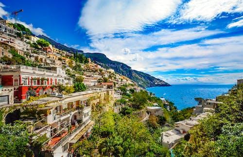 Fotobanka sbezplatnými fotkami na tému amalfi, architektúra, breh, cestovný ruch
