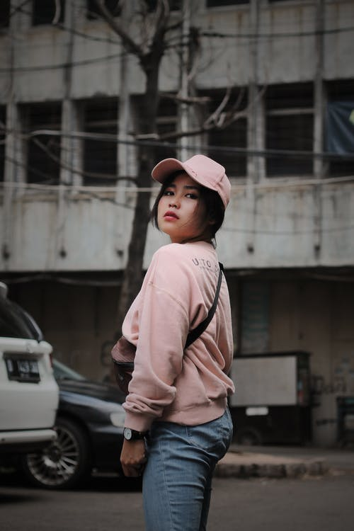 Gratis lagerfoto af gade, gadefotografering, kvinde, person