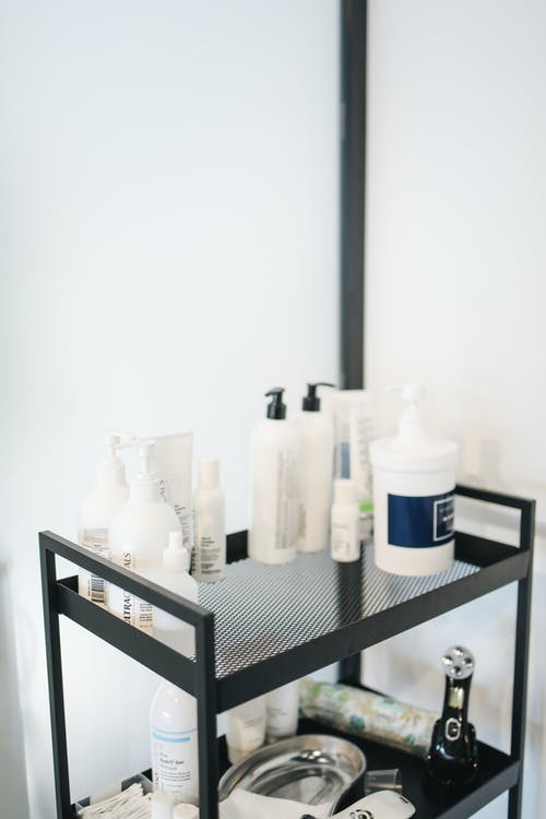 Beauty Products in Salon