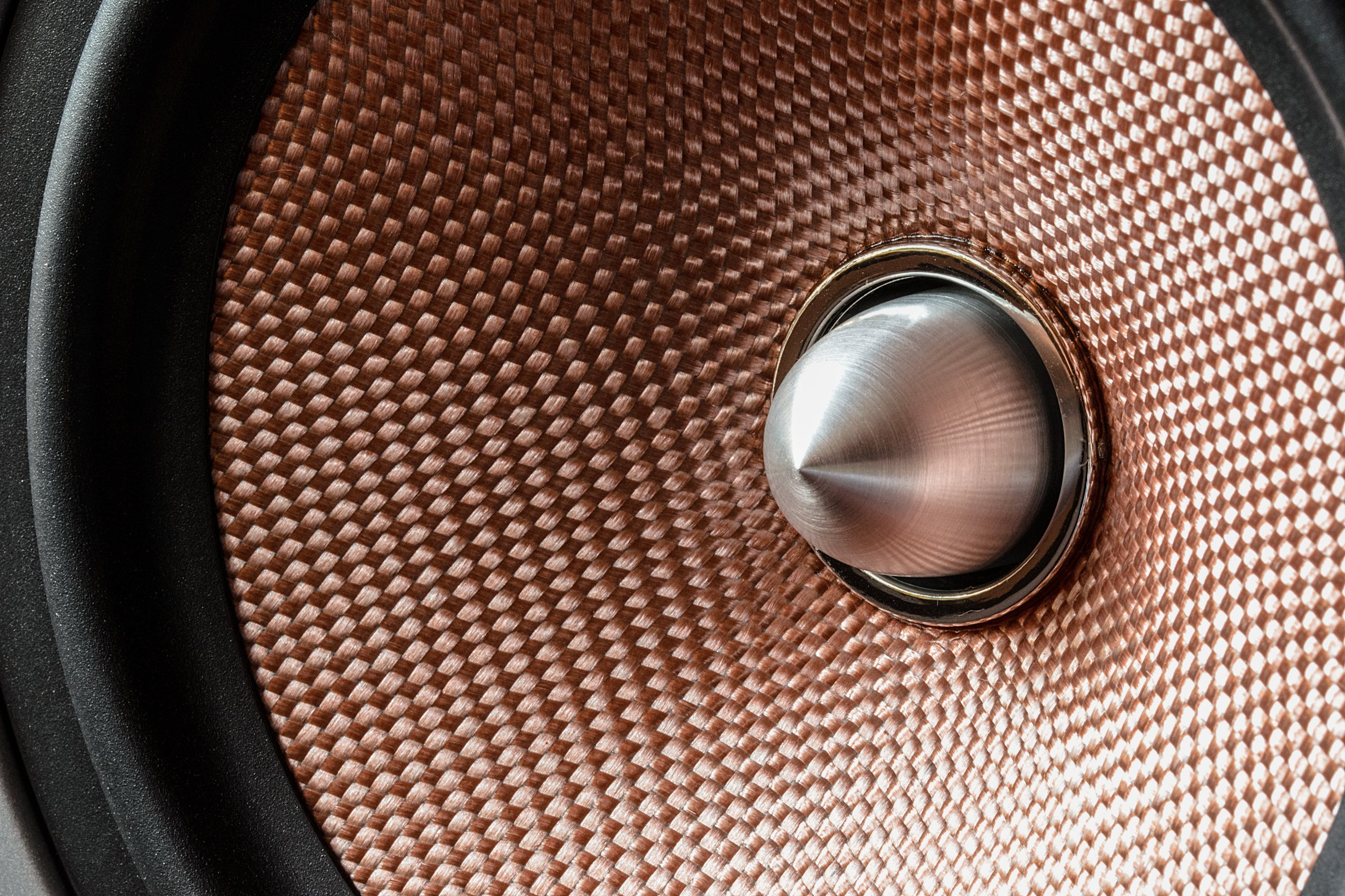 Gold and Gray Bullet Tweeter Speaker