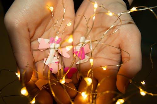 Ingyenes stockfotó fények, kezek, Lámpák témában