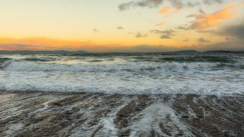 คลังภาพถ่ายฟรี ของ กลางแจ้ง, การท่องเที่ยว, ขอบฟ้า, คลื่นทะเล