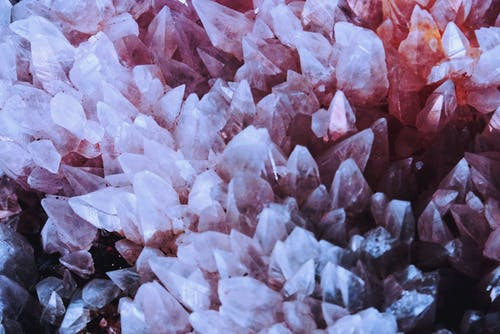 Close-up Shot Of Crystals