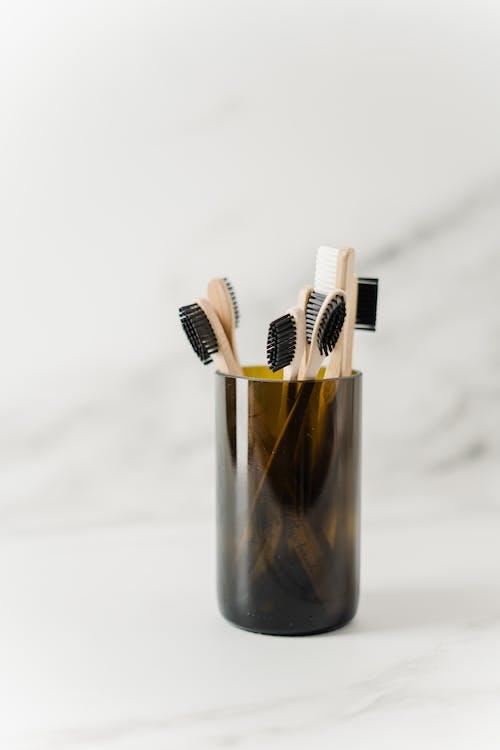 Brown Toothbrush